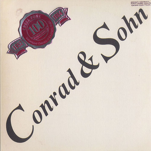 conrad schnitzler - Conrad & Sohn