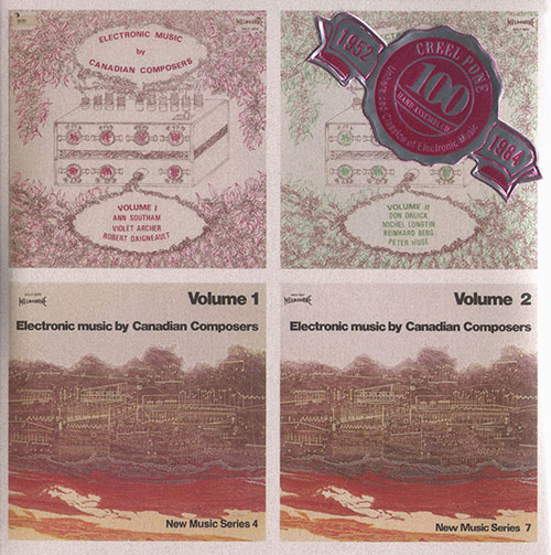 ELECTRONIC MUSIC IN CANADA, VOL.1 & 2 (2CD)