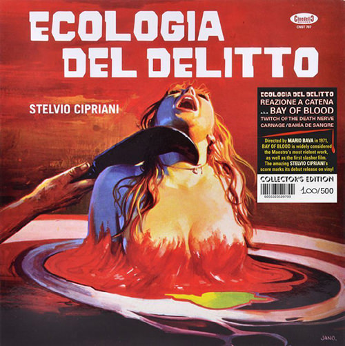 ECOLOGIA DEL DELITTO (BLACK LP)