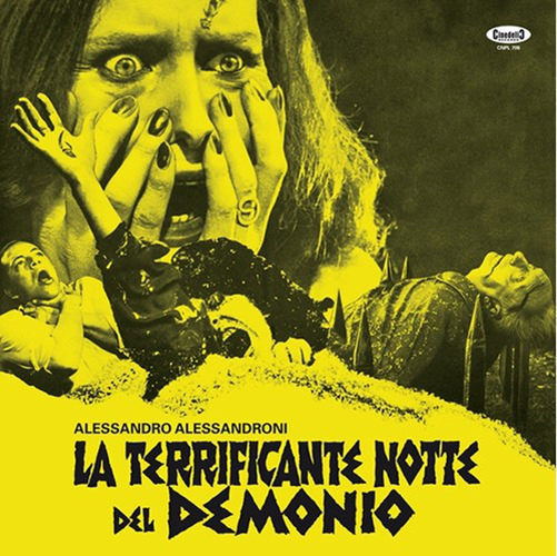LA TERRIFICANTE NOTTE DEL DEMONIO (COLOR LP)