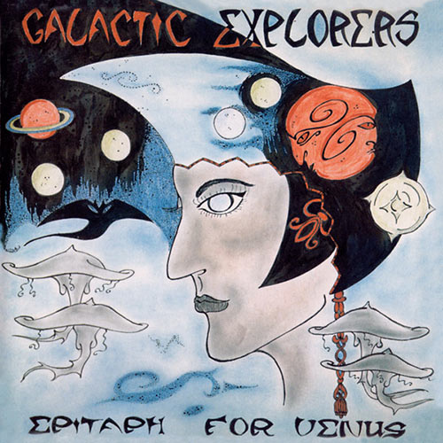 galactic explorers - Epitaph For Venus (CD)