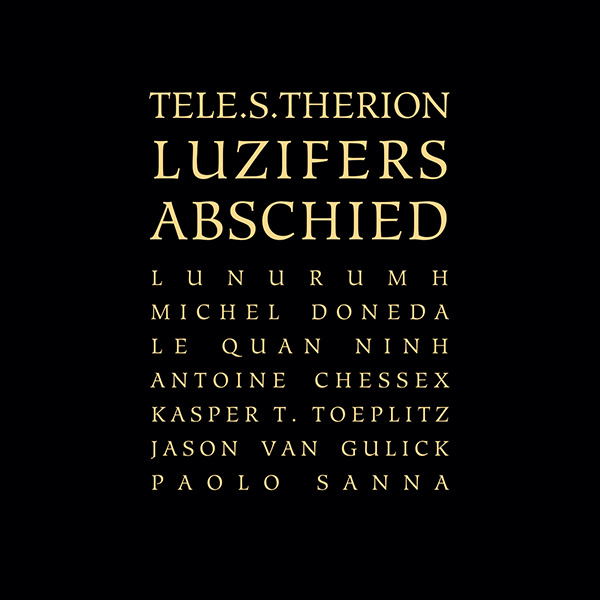 TELE.S.THERION - LUZIFERS ABSCHIED