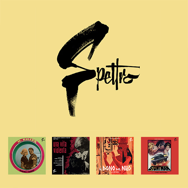 Spettro Soundtracks LPs in bundle (Black Vinyl)