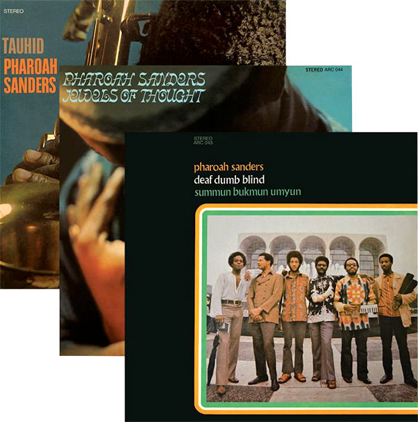 TAUHID / JEWELS OF THOUGHT / SUMMUN BUKMUN UMYUN (3 LP BUNDLE)