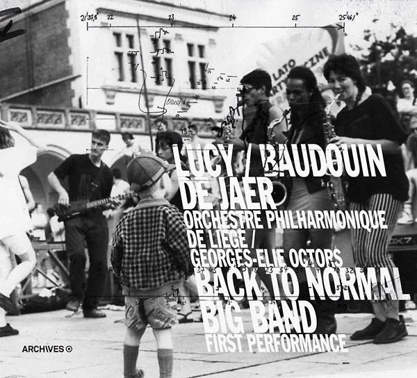 baudouin de jaer - Lucy / Back To Normal (2cd)