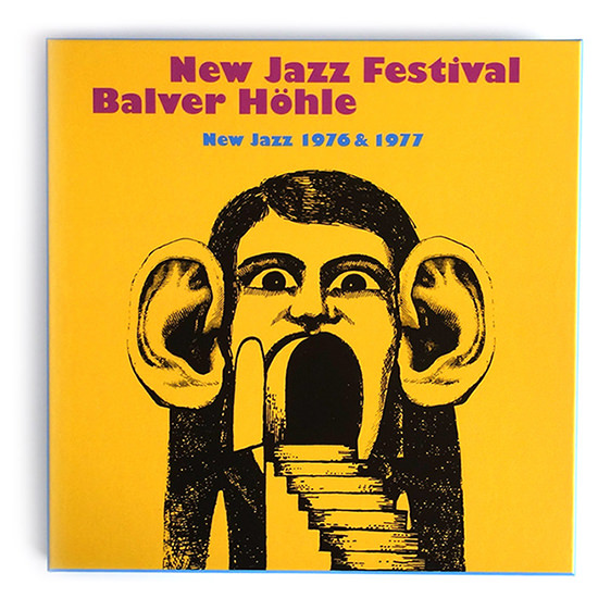 NEW JAZZ FESTIVAL BALVER HöHLE (NEW JAZZ 1976 & 1977) 8XCD BOX