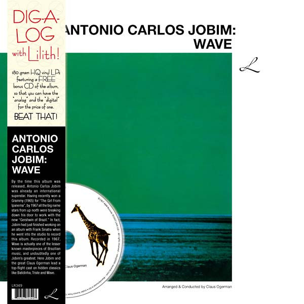 antonio carlos jobim - Wave (Lp + Cd)