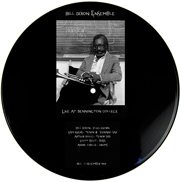 bill dixon - Live at Bennington College, 1969 (Lp)
