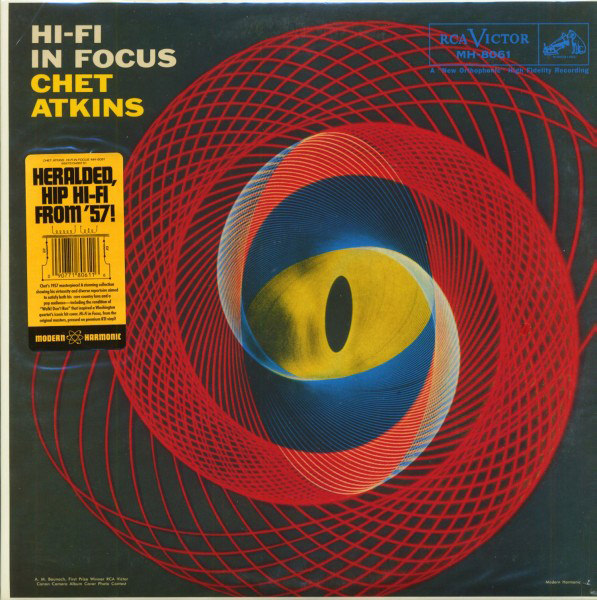 chet atkins - Hi-Fi In Focus (LP)