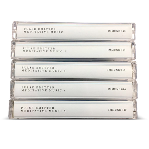 pulse emitter - Meditative Music (5x Tapes Set)
