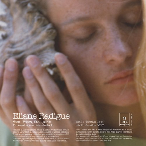 eliane radigue - Vice - Versa, Etc. (Lp)