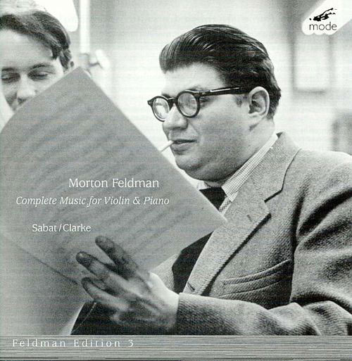 morton feldman - Complete works for violin & piano