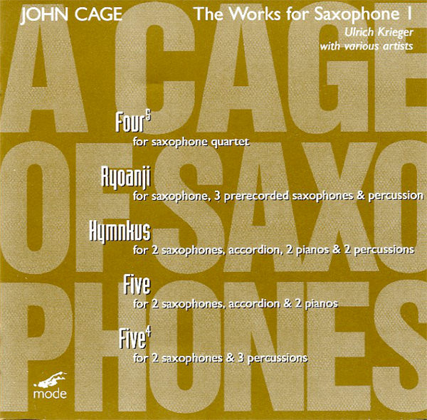 A CAGE OF SAXOPHONES 1