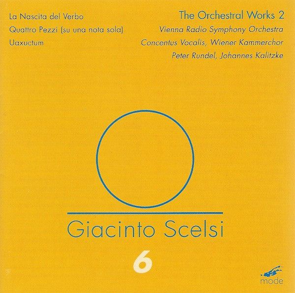 giacinto scelsi - The Orchestral Works 2 (DVD)