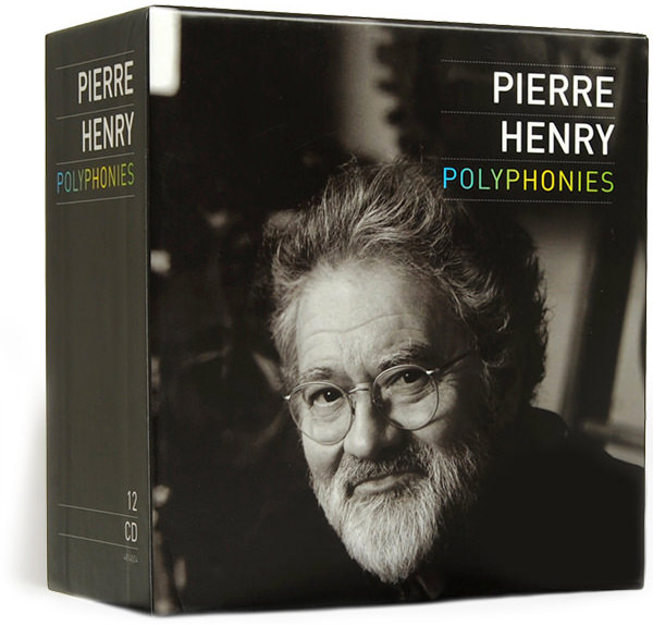 pierre henry - Polyphonies (12 CD box)
