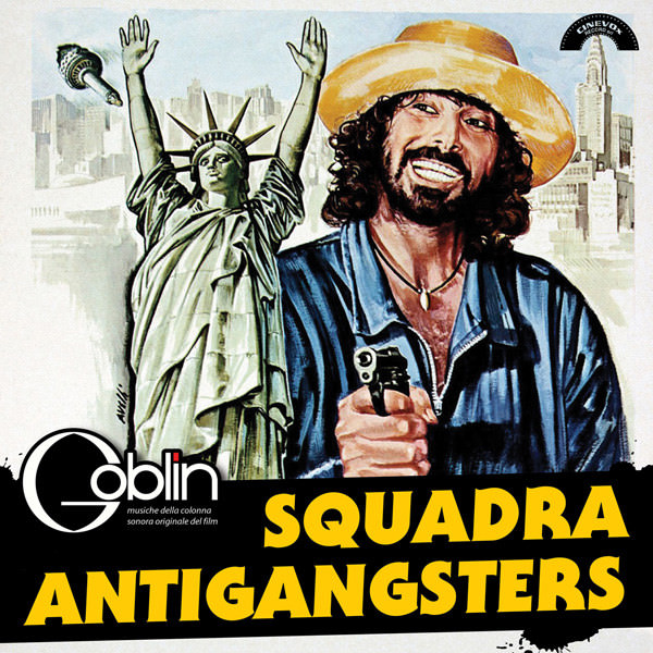 SQUADRA ANTIGANGSTERS (LP)