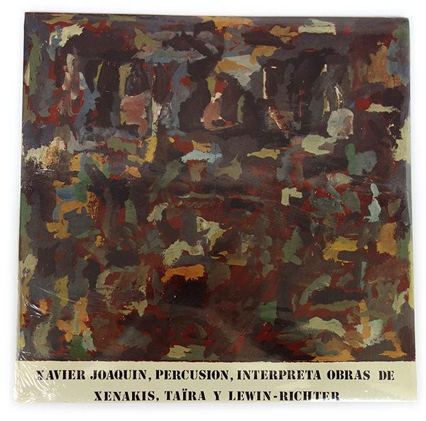 INTERPRETA OBRAS DE XENAKIS, TAïRA Y LEWIN-RICHTER (LP)