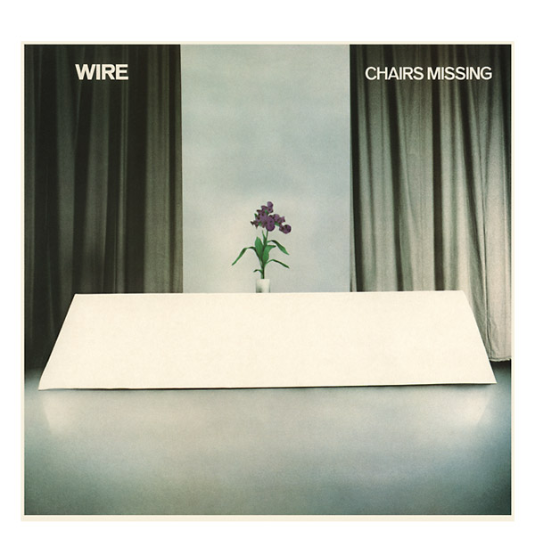 wire - Chairs Missing (book + 3CD)