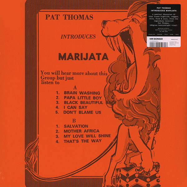 pat thomas - Pat Thomas Introduces Marijata (Lp)