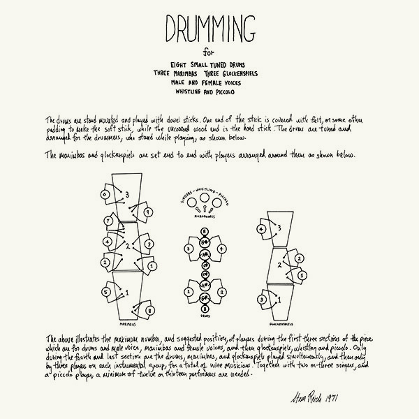 steve reich - Drumming (2CD)