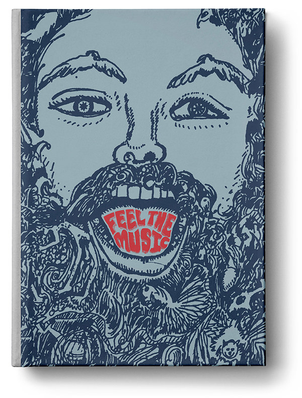 Feel the Music: The Psychedelic Worlds of Paul Major (Book + 7