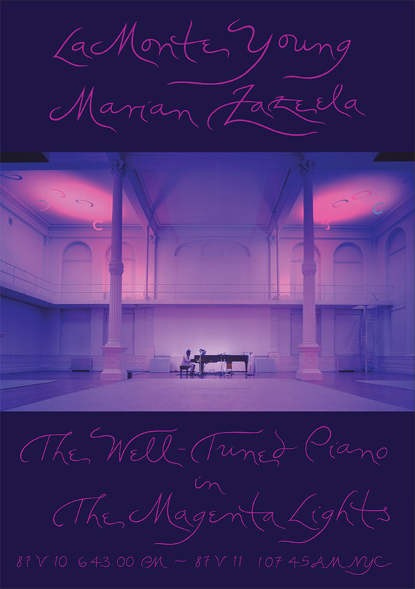 marian zazeela - la monte young - The Well-Tuned Piano