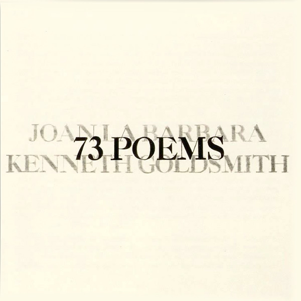 joan la barbara - 73 poems