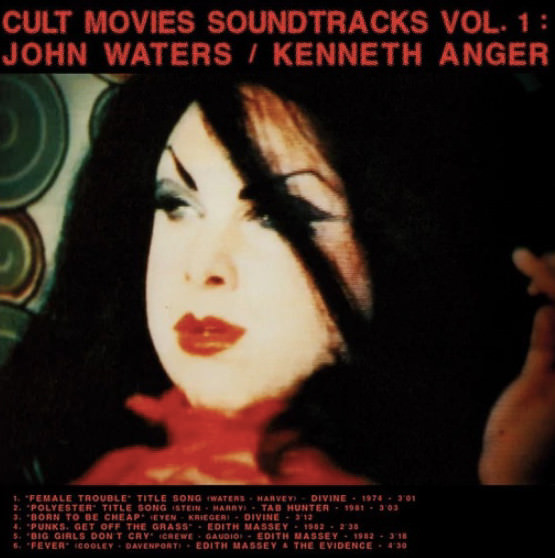 CULT MOVIES SOUNDTRACKS VOL.1: JOHN WATERS / KENNETH ANGER (LP)