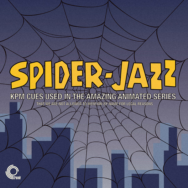 various artists - Spider-Jazz: KPM Cues  (Lp)
