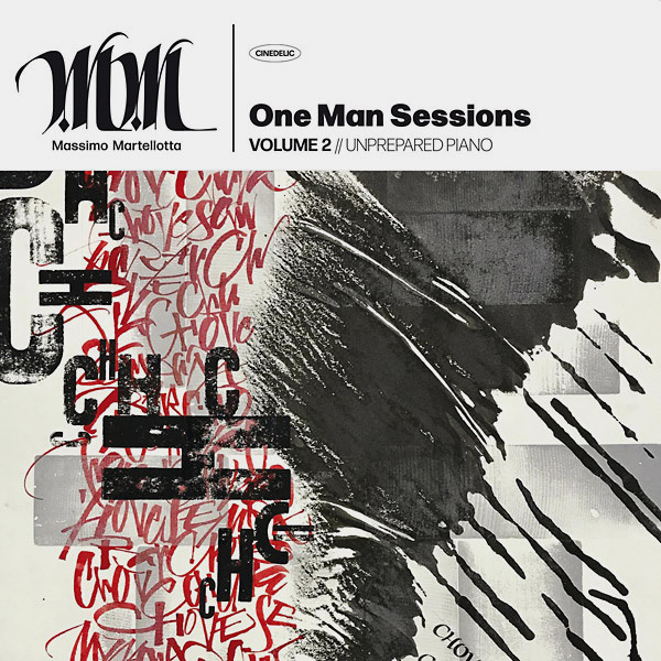 ONE MAN SESSIONS VOLUME 2 // UNPREPARED PIANO (LP)