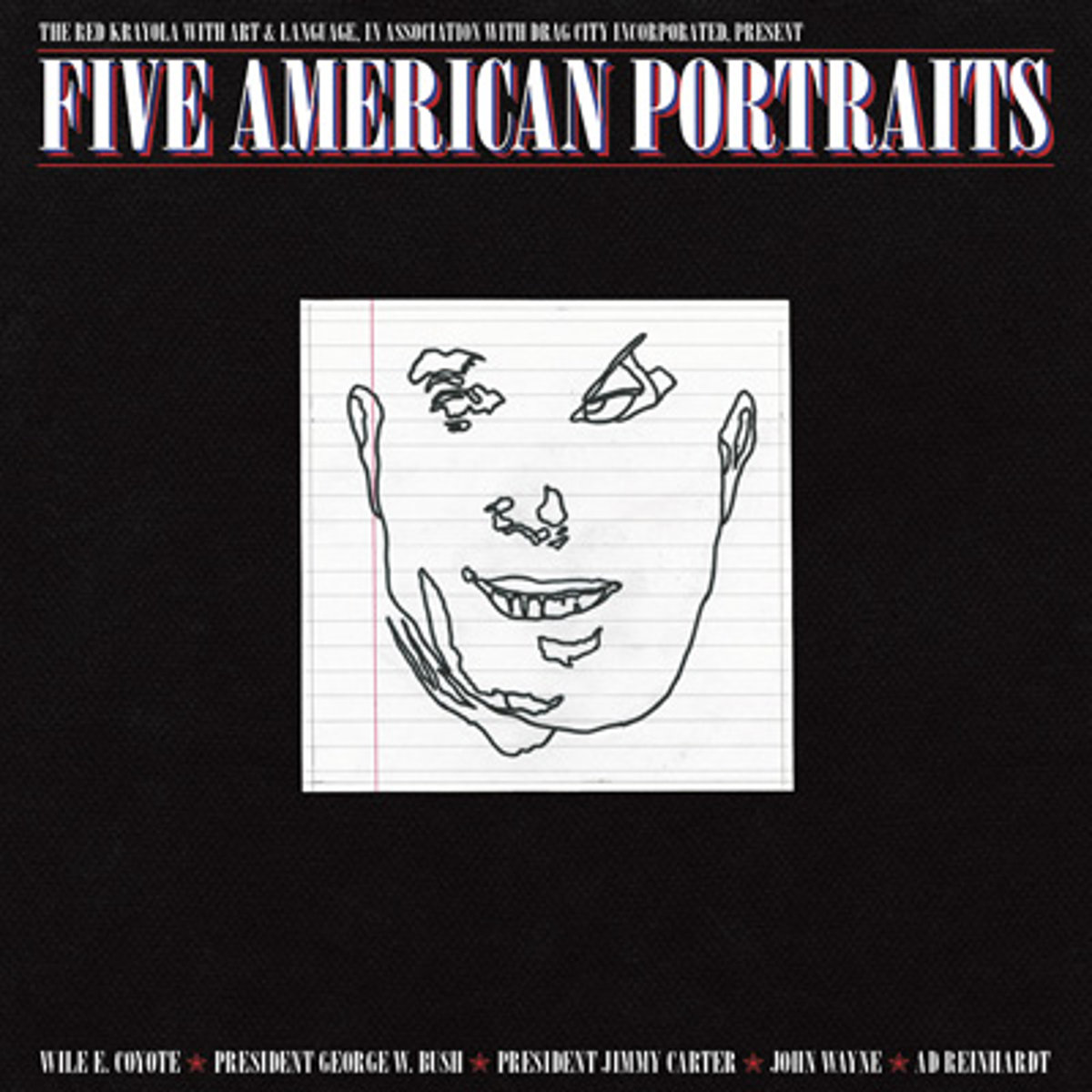 FIVE AMERICAN PORTRAITS (LP)