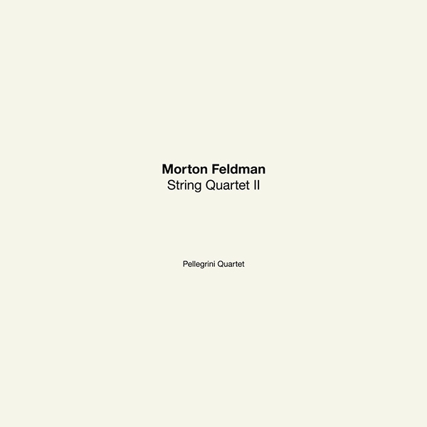 morton feldman - String Quartet II (Lp Box)
