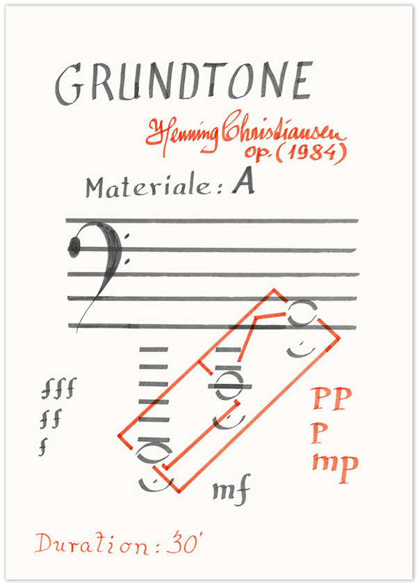 Grundtone, opus 161 (A2 poster + download)