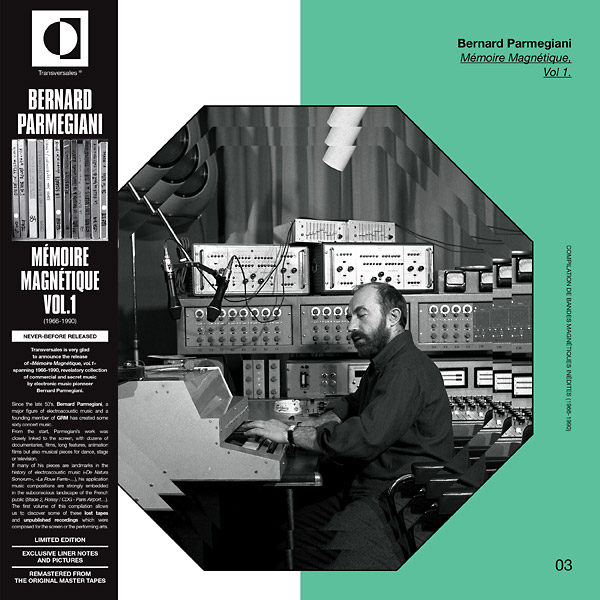 bernard parmegiani - Memoire Magnetique, Vol. 1 (1966 – 1990) LP