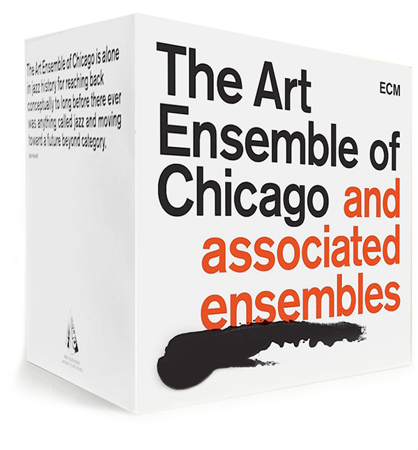 THE ART ENSEMBLE OF CHICAGO AND ASSOCIATED ENSEMBLES (21CD BOX)