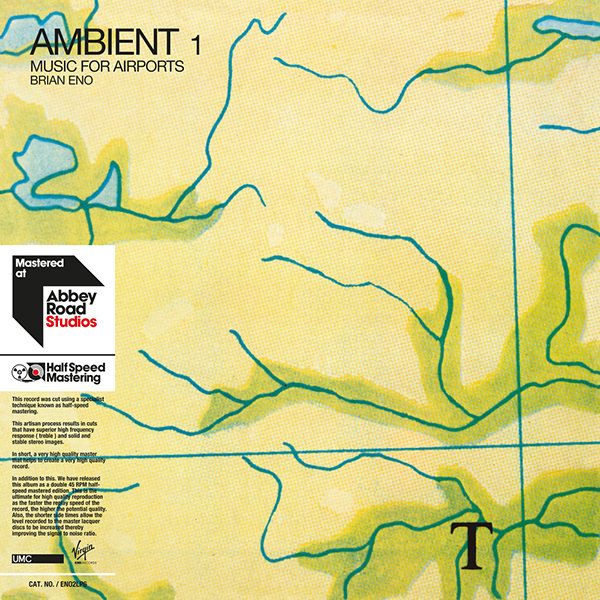 AMBIENT 1: MUSIC FOR AIRPORTS (2LP, HALF-SPEED MASTER)