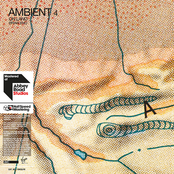 AMBIENT 4: ON LAND  (2LP, HALF-SPEED MASTER)