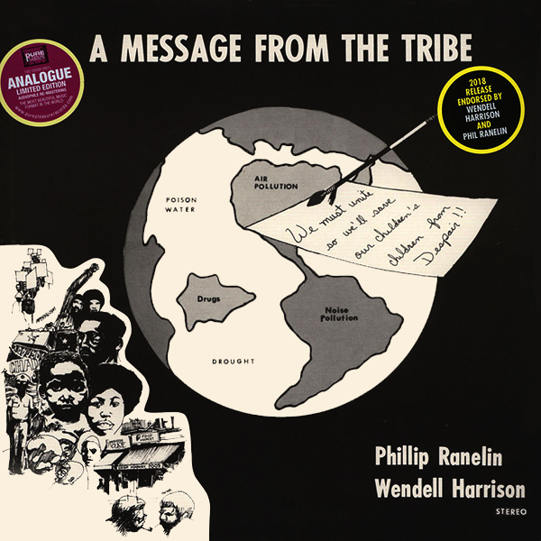 wendell harrison - phil ranelin - A Message From A Tribe (Lp)