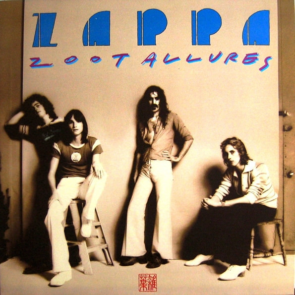 the mothers of invention - frank zappa - Zoot Allures  (Lp)