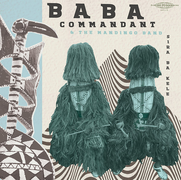 baba commandant and the mandingo band - Sira Ba Kele (Lp)