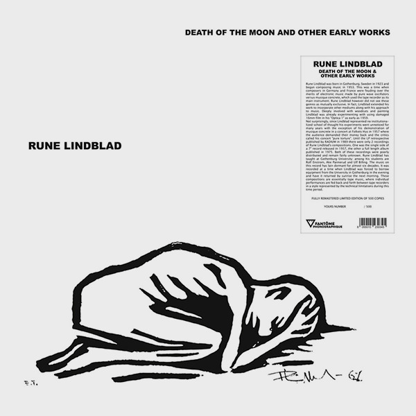 rune lindblad - Death Of The Moon & Other Early Works (LP)