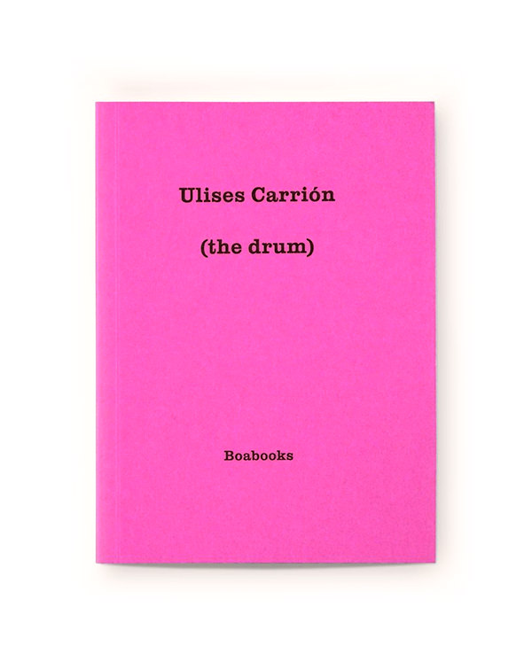 ulises carrion - (the drum)
