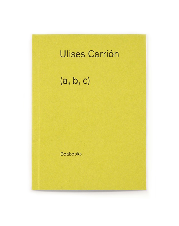 ulises carrion - (a, b, c)