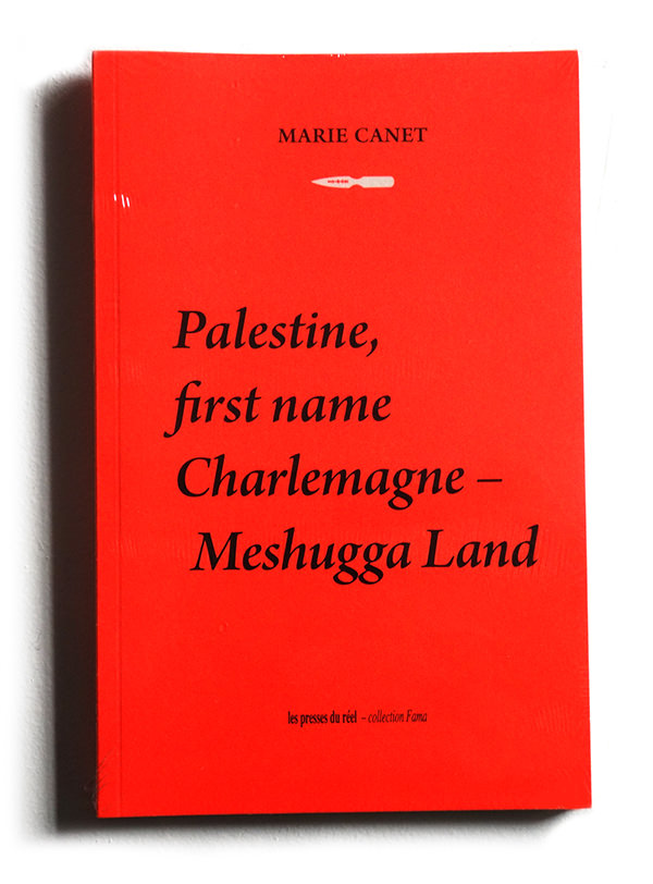 PALESTINE, FIRST NAME CHARLEMAGNE – MESHUGGA LAND  (BOOK)