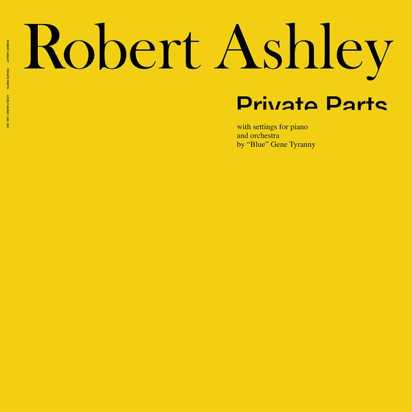 robert ashley - Private Parts (Lp)