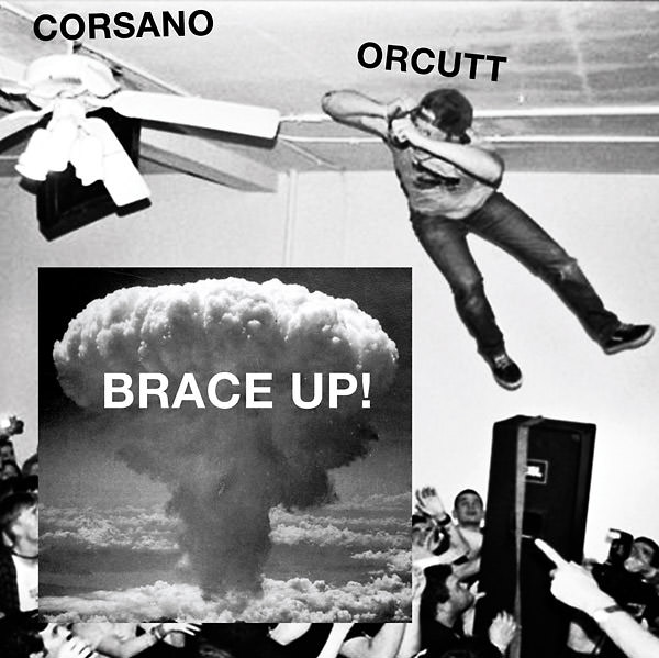 chris corsano - bill orcutt - Brace Up! (Lp)