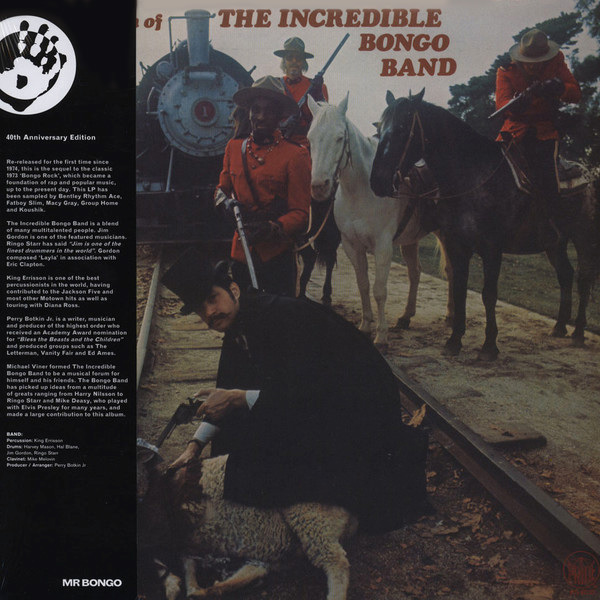 incredible bongo band - The Return Of The Incredible Bongo Band  (Lp)