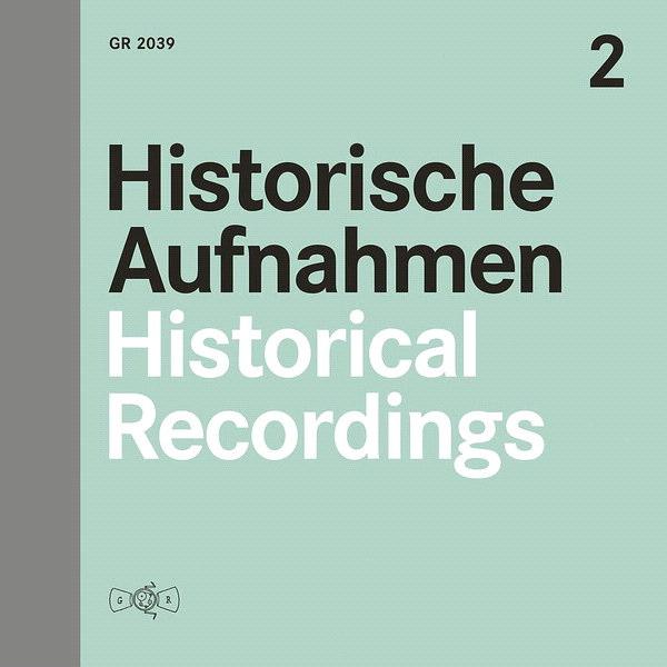 Historische Aufnahmen Vol. 2 (LP)