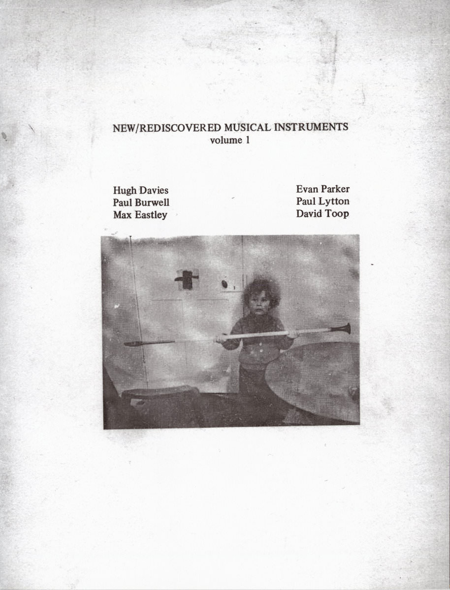 NEW / REDISCOVERED INSTRUMENTS VOLUME 1 (BOOKLET)