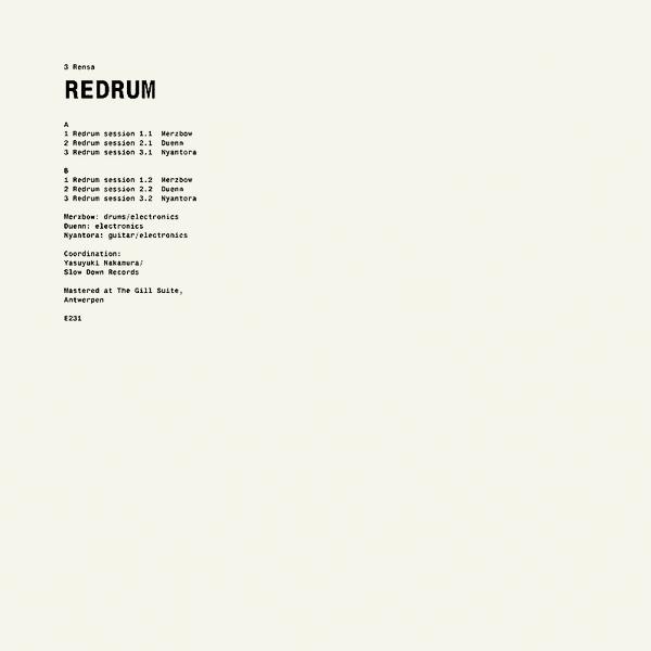 REDRUM (LP)